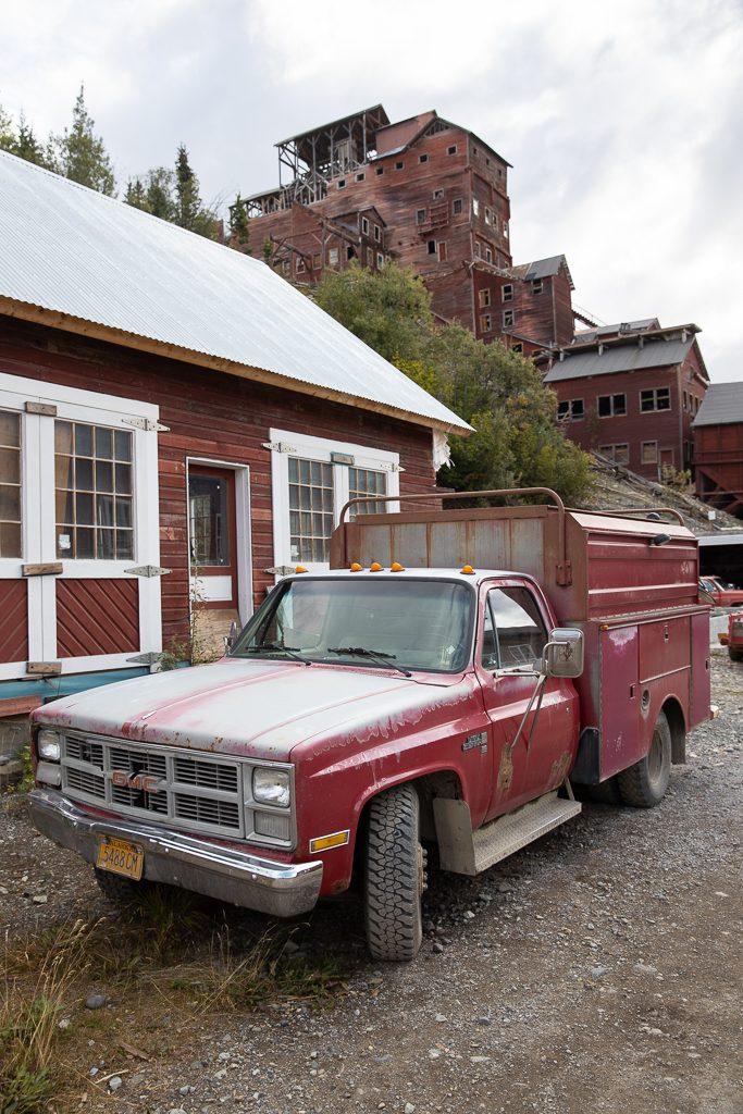 kennicott mine old car