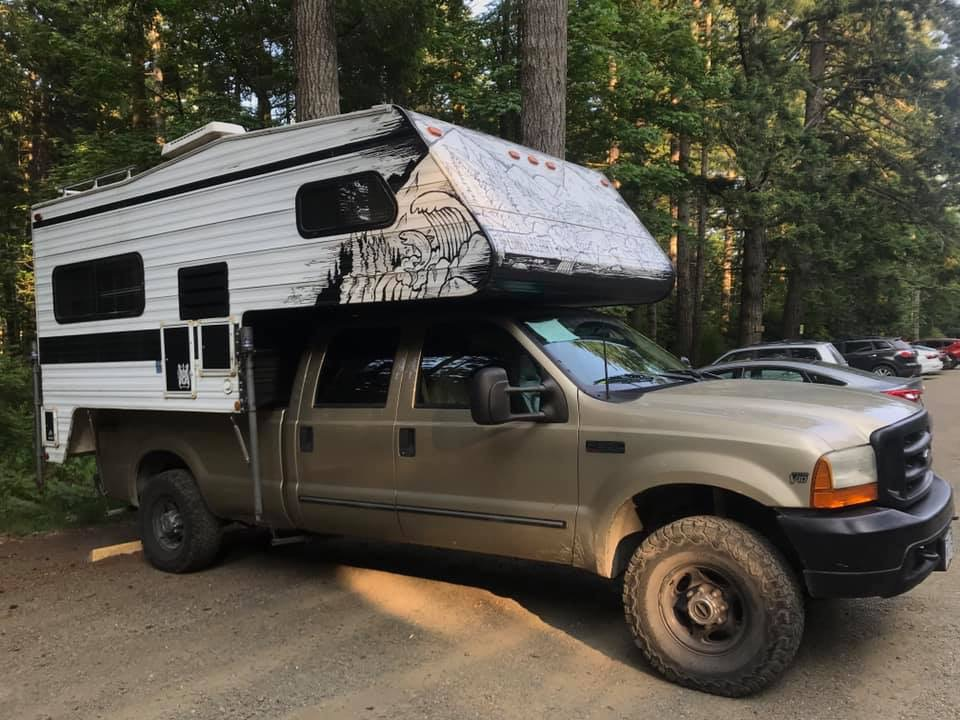 campertruck ford f350 - how to choose vehicle for roadtrip