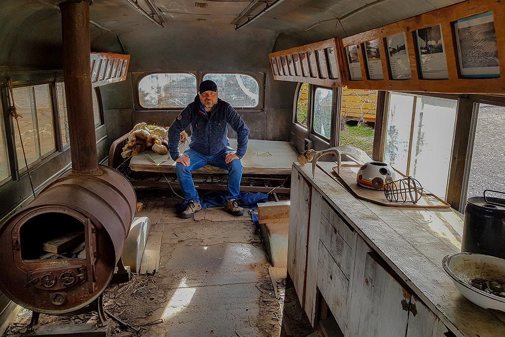 magic bus in healy alaska into the wild