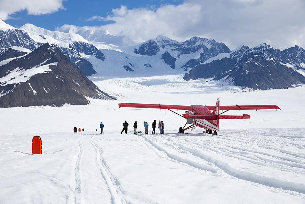 denali glacier landing flighseeing