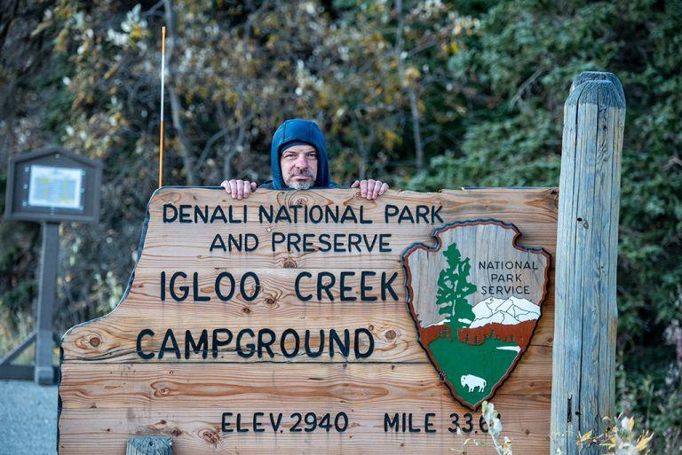 denali national park igloo creek camping