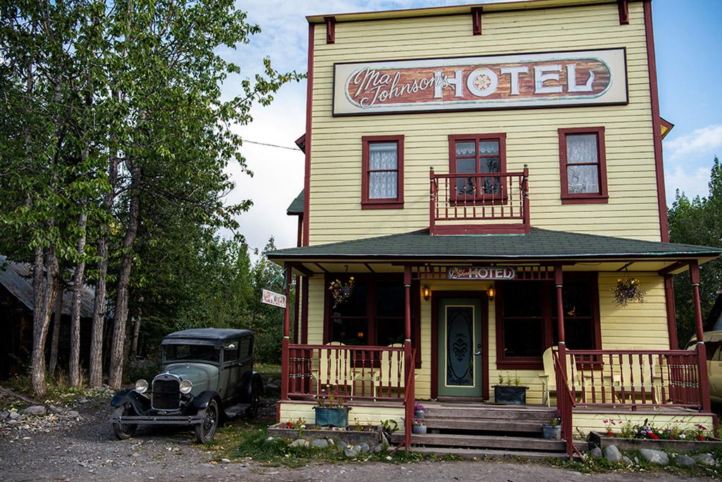 ma johnson hotel mccarthy alaska