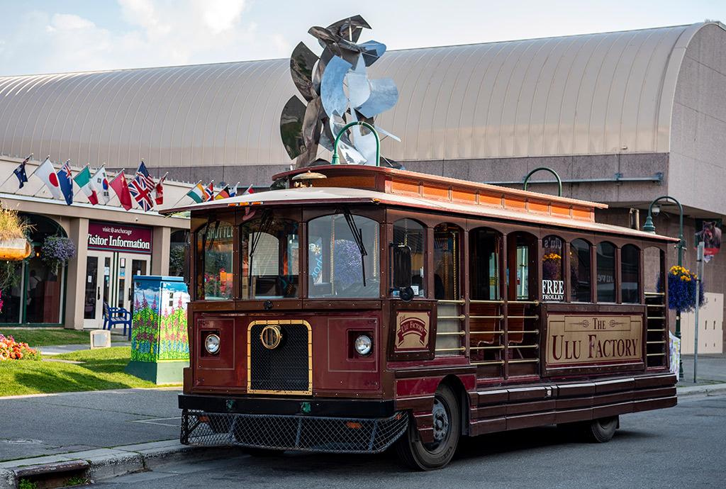 tram in Anchorage - Three best places to visit at Kenai Peninsula Alaska