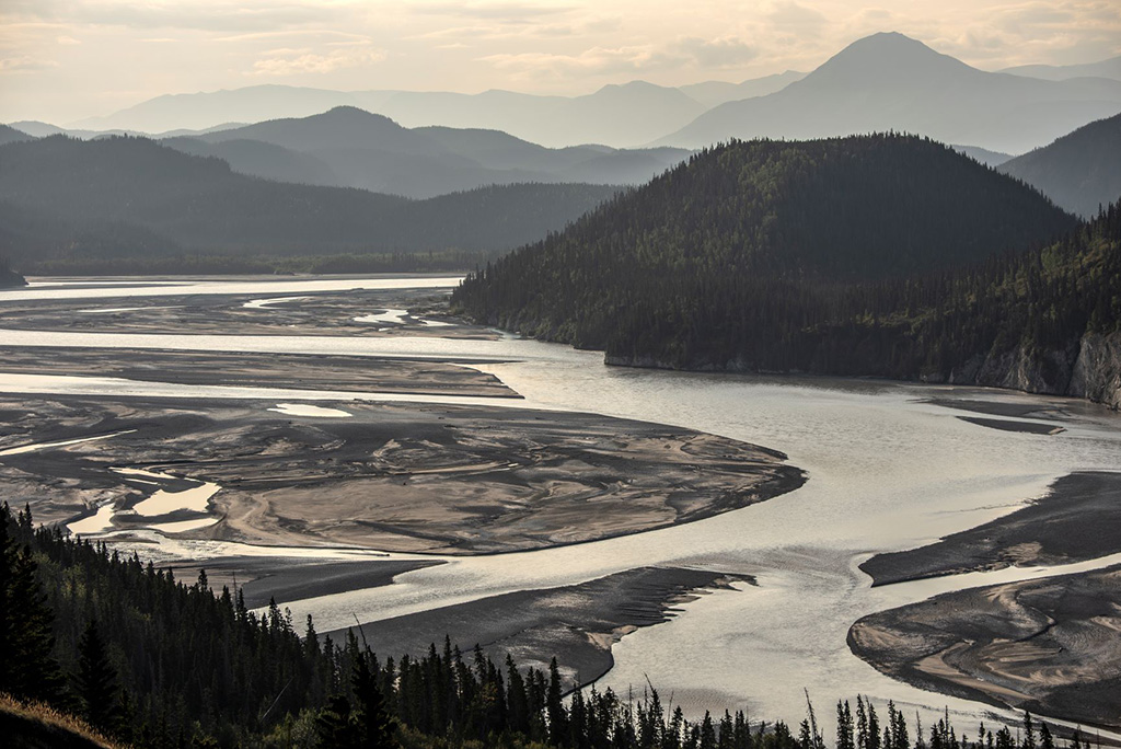 River on the way to Kennicott mine