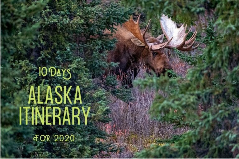 10 days alaska itinerary for 2020 title page