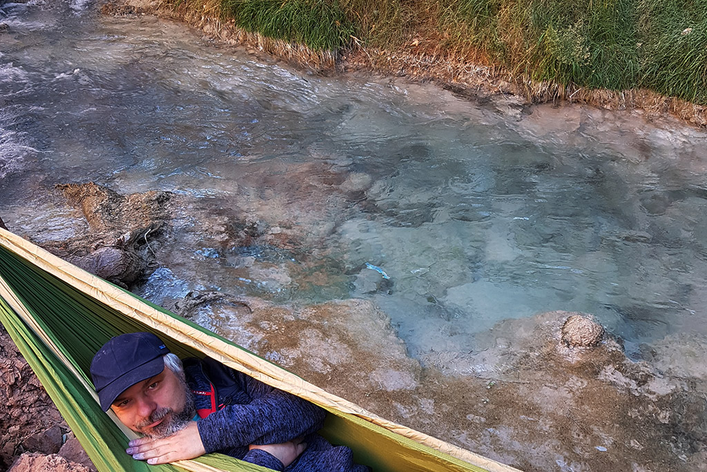 relax in hammoc havasu falls creek