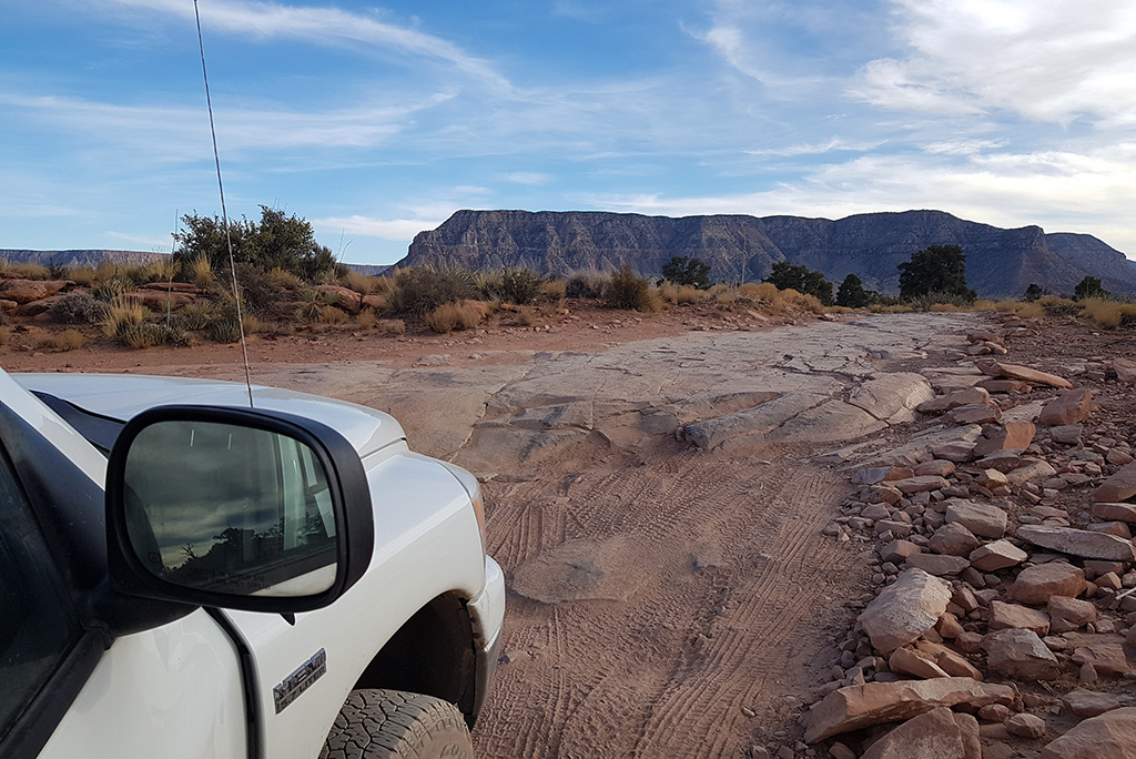 Driving to Toroweap Overlook