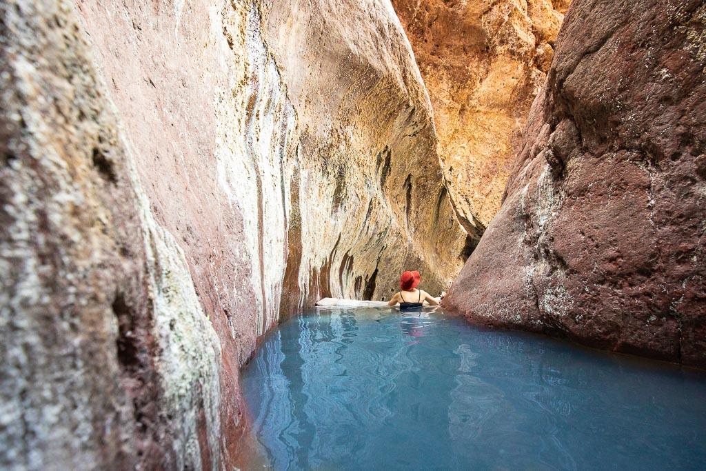 arizona upper hot springs pool