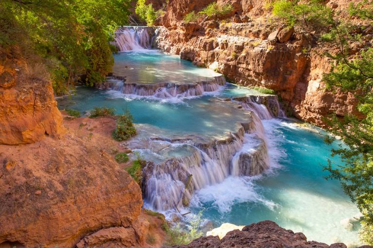 beaver falls havasupai grand canyon