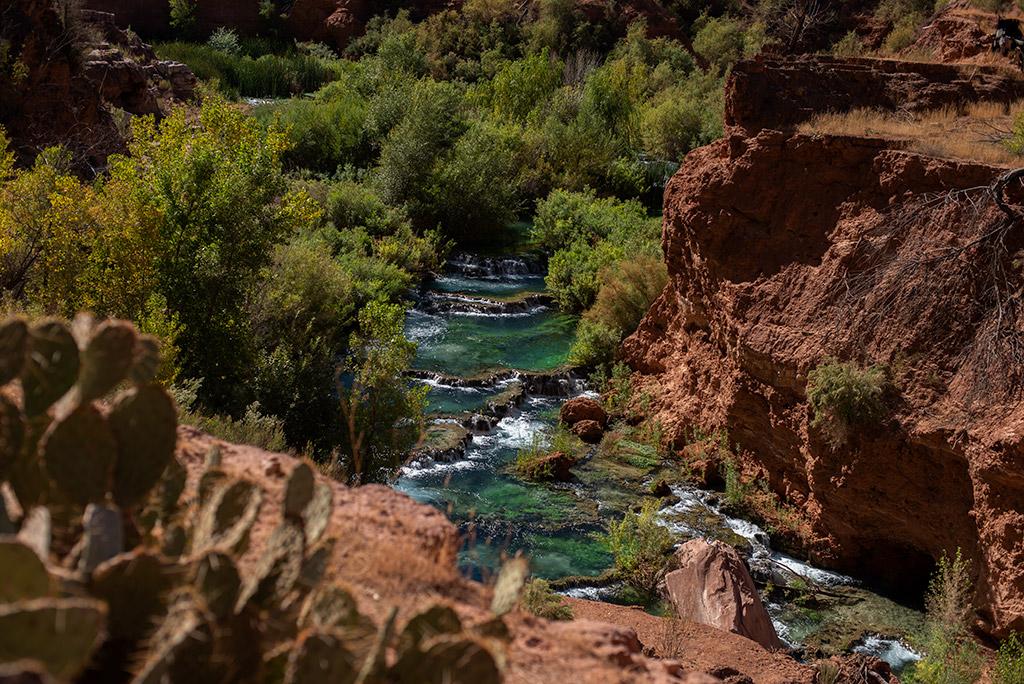Little Navajo Waterfall