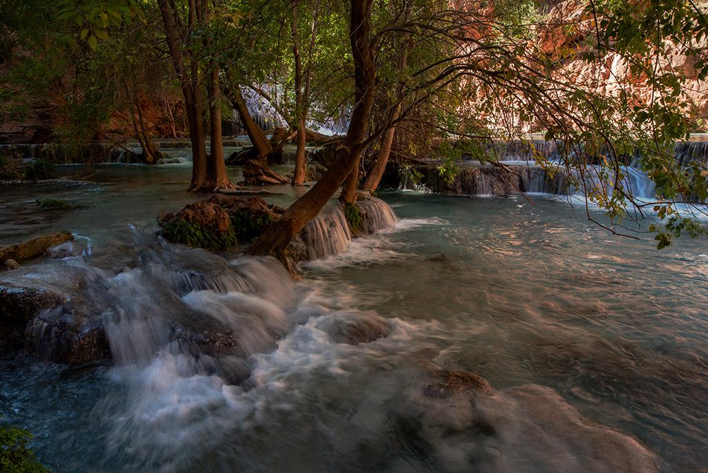 Beaver Falls hike in Havasu Creek