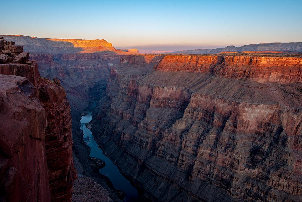 toroweap sunrise Grand Canyon