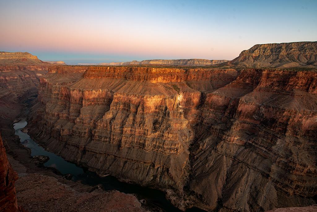 Toroweap Sunset Grand Canyon