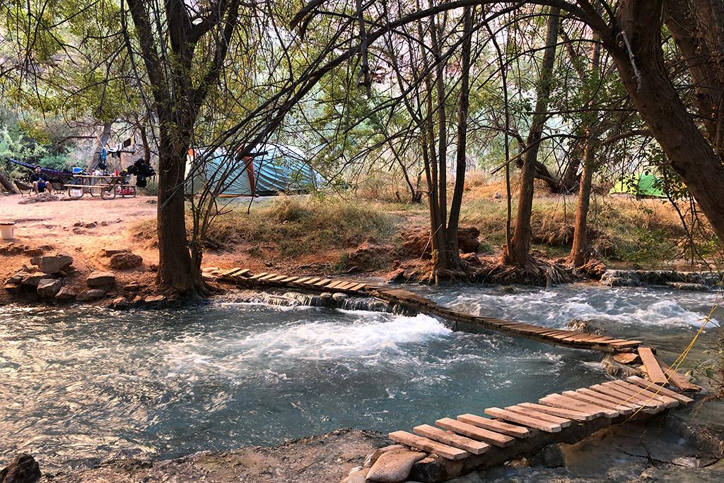 bridges at the havasu falls camping