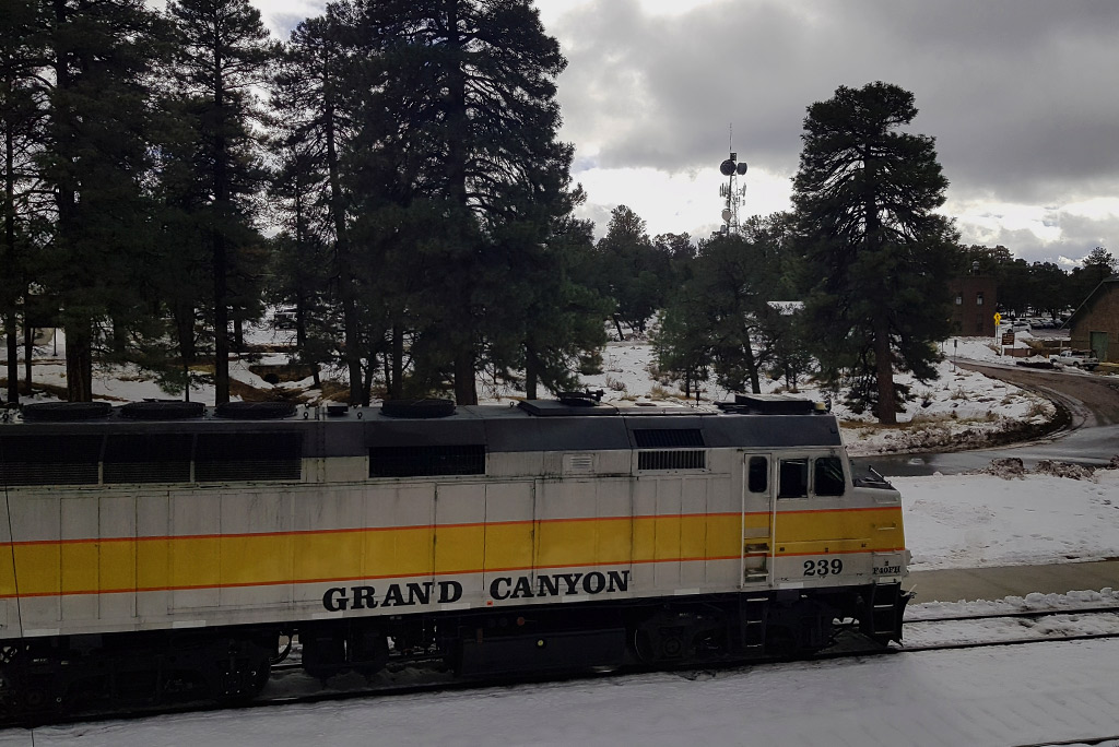 Grand Canyon Railway in Grand Canyon Village