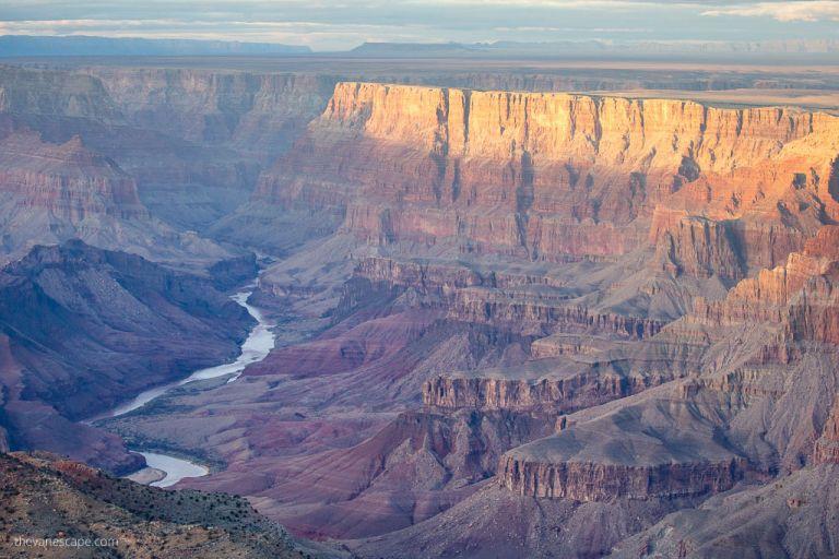 Colorado River from Navajo Point