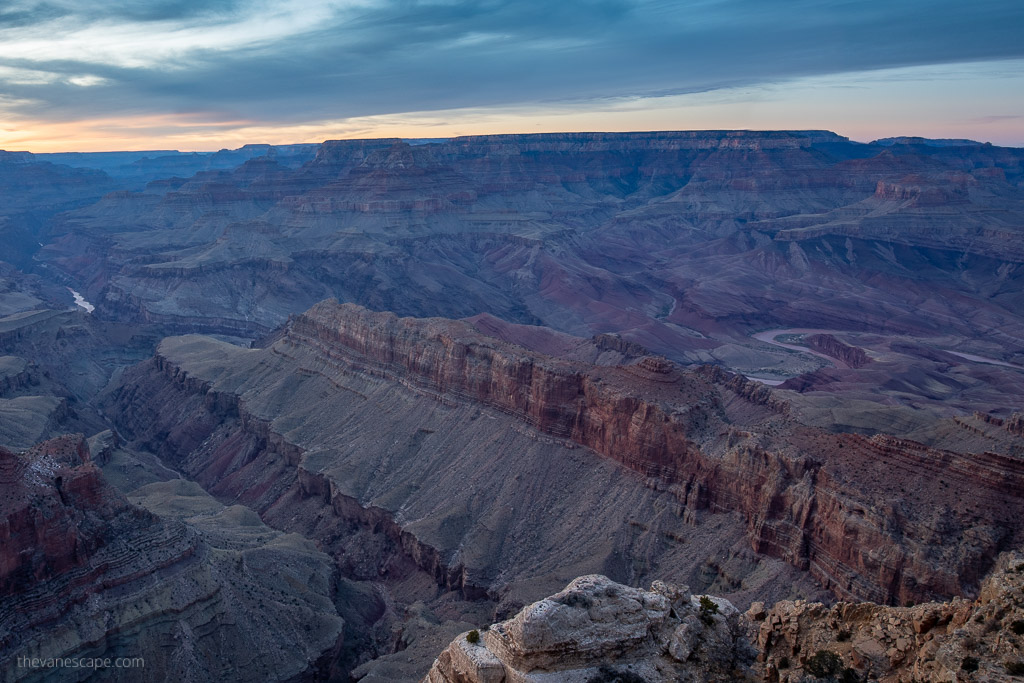 Sunset from Lipan Point