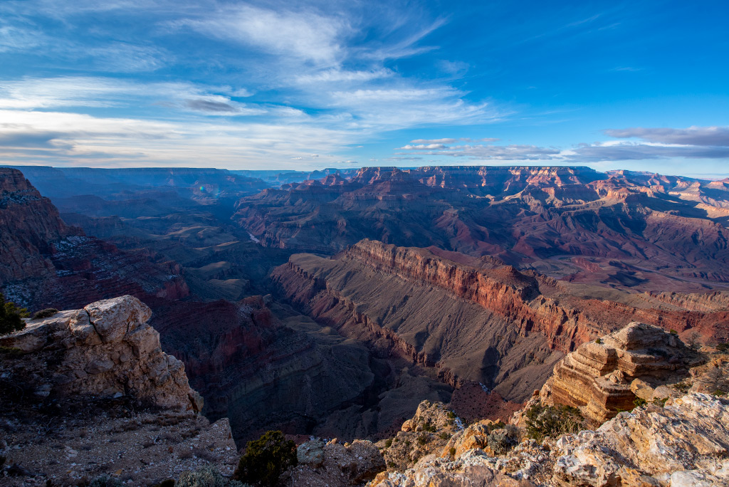 Grand Canyon Viewpoints from South Rim