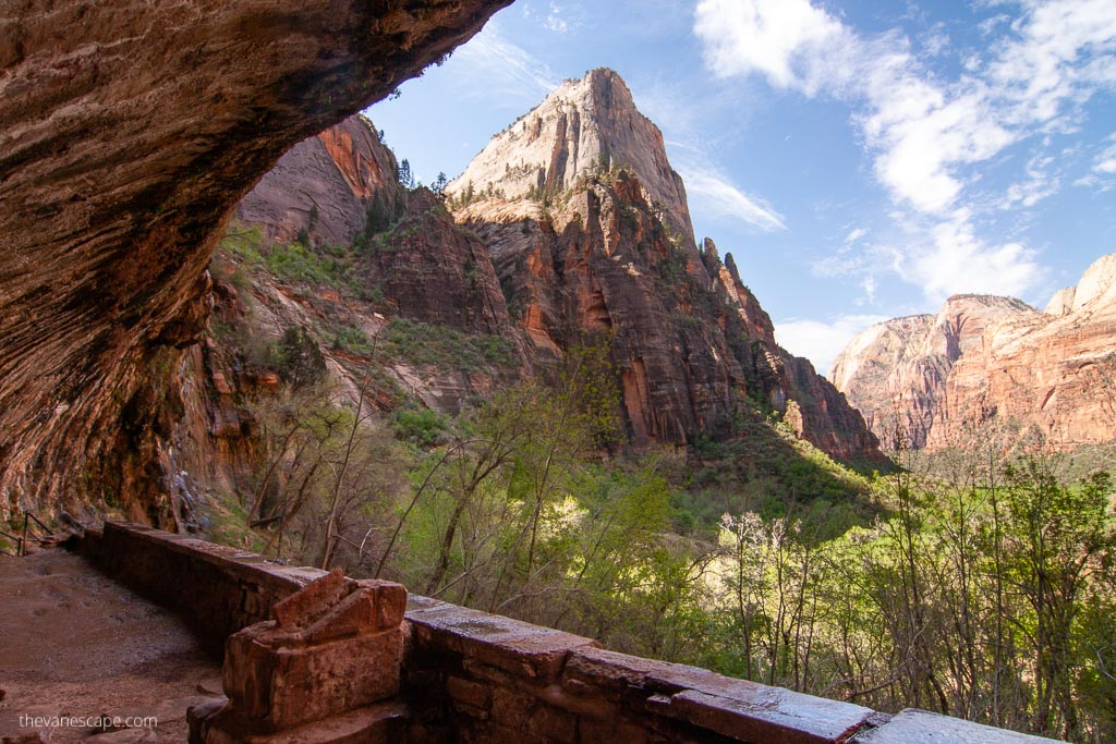 Weeping Rock Trail in Zion National Park