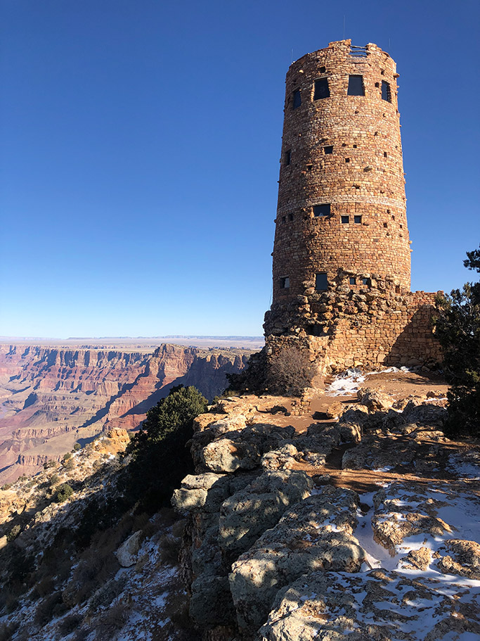 Desert View Watchtower, Grand Canyon Viewpoints
