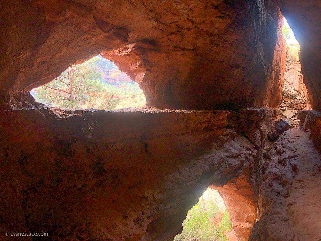 Hidden Sedona Caves (Soldier's Arch)