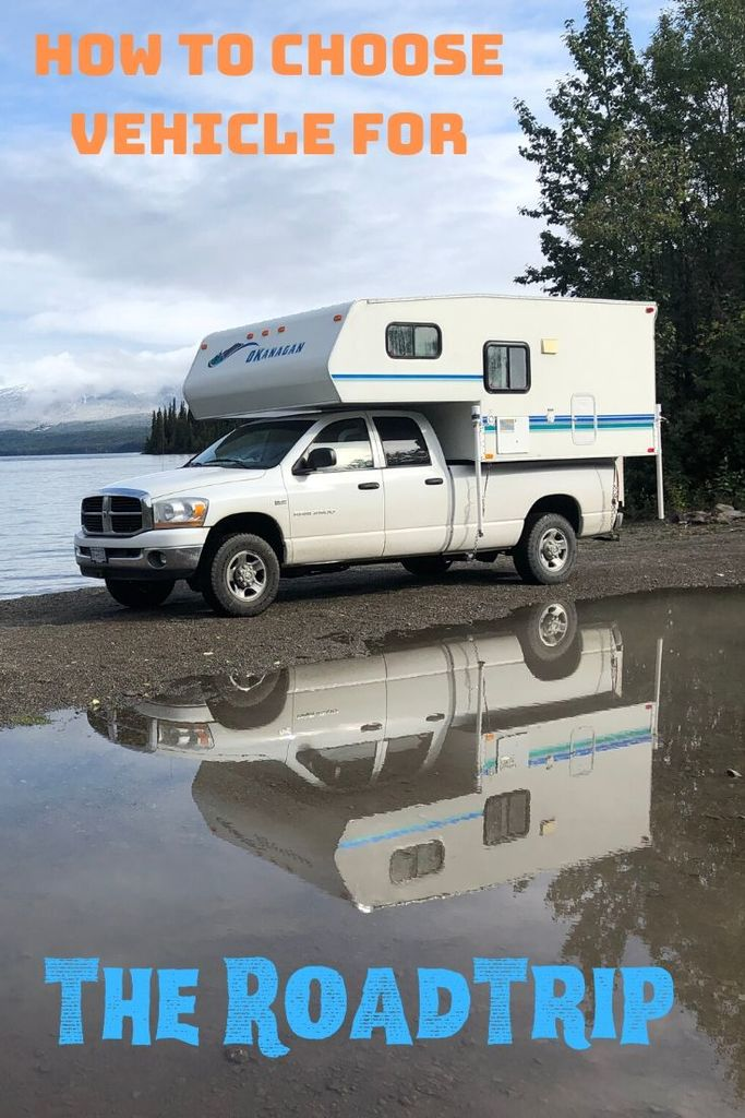 This blog entry shows you some options how to choose vehicle for a roadtrip. After reading it you should be able to understand all options.