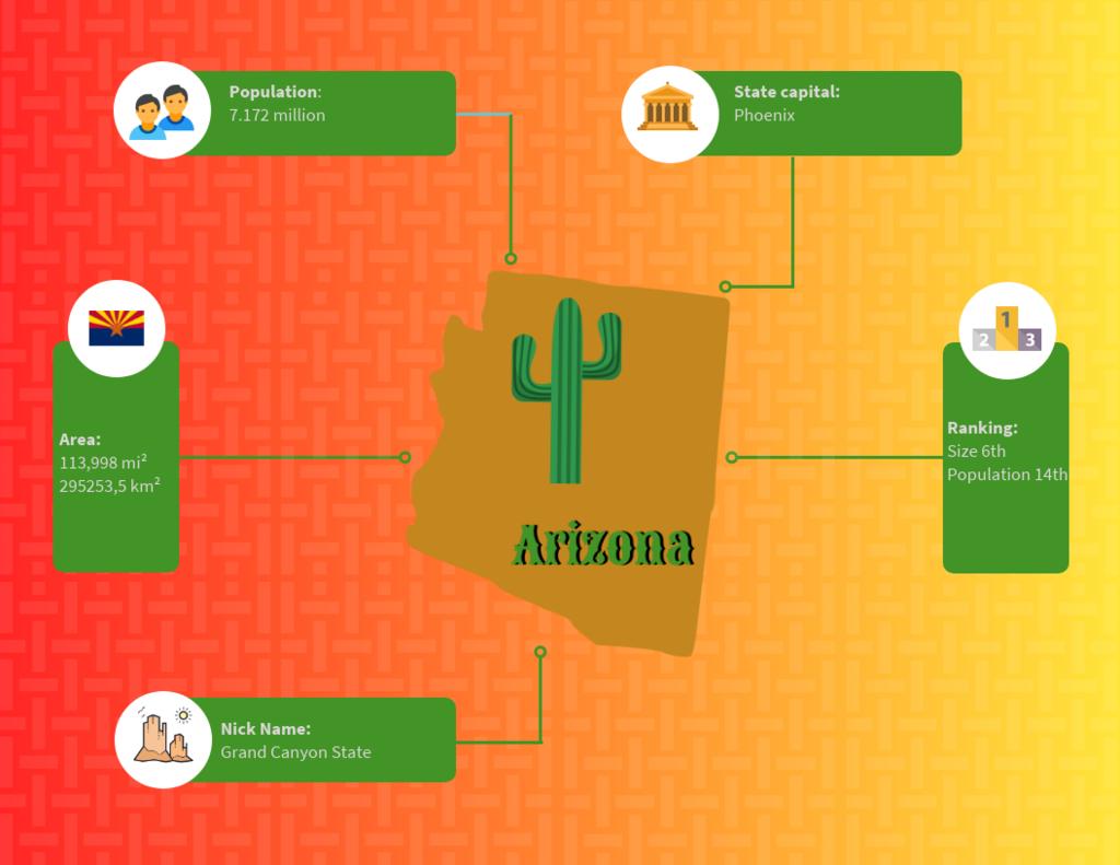 arizona infographics