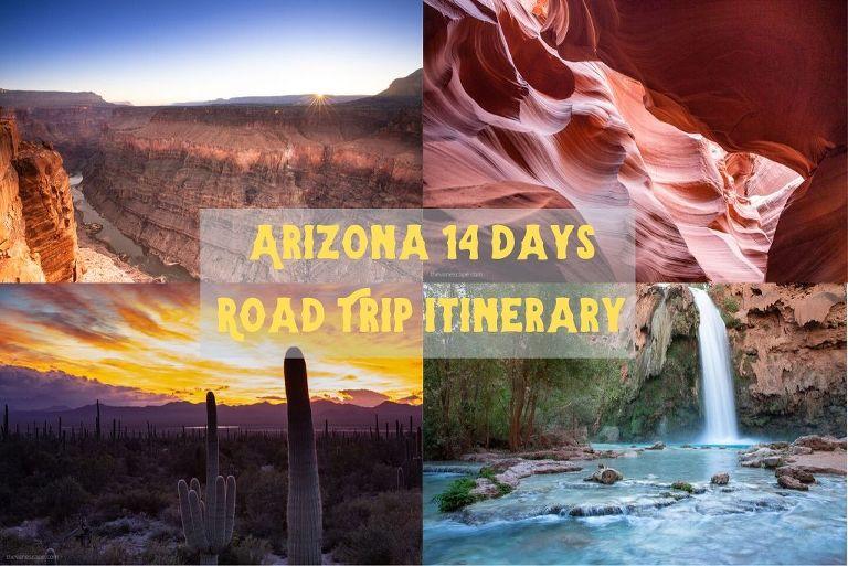 arizona 14 days road trip itinerary