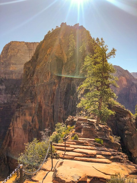 Angels Landing Hike, Zion