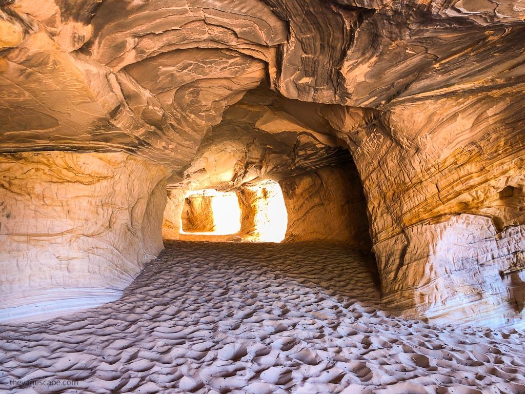 Moqui Caverns near Kanab Utah