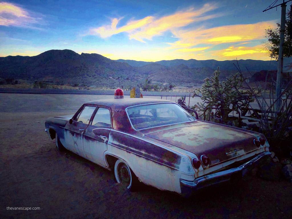 Hackberry route 66 arizona road trip itinerary