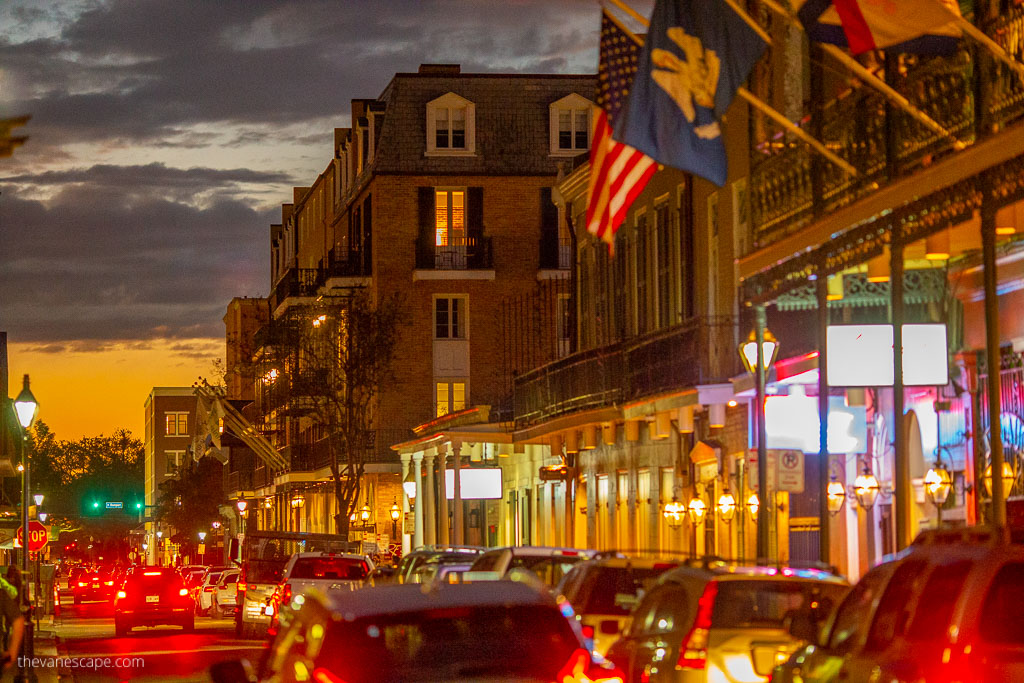 New Orleans 3 days itinerary bourbon street