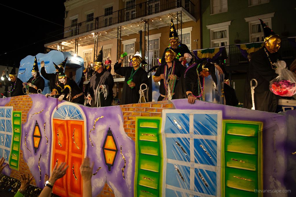 Mardi Gras New Orleans Itinerary 2020
