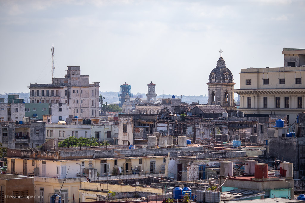 Hotel Ambos Mundos Havana rooftop bar