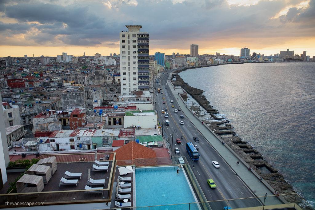 SO Paseo del Prado La Habana, best rooftop bars in Havana