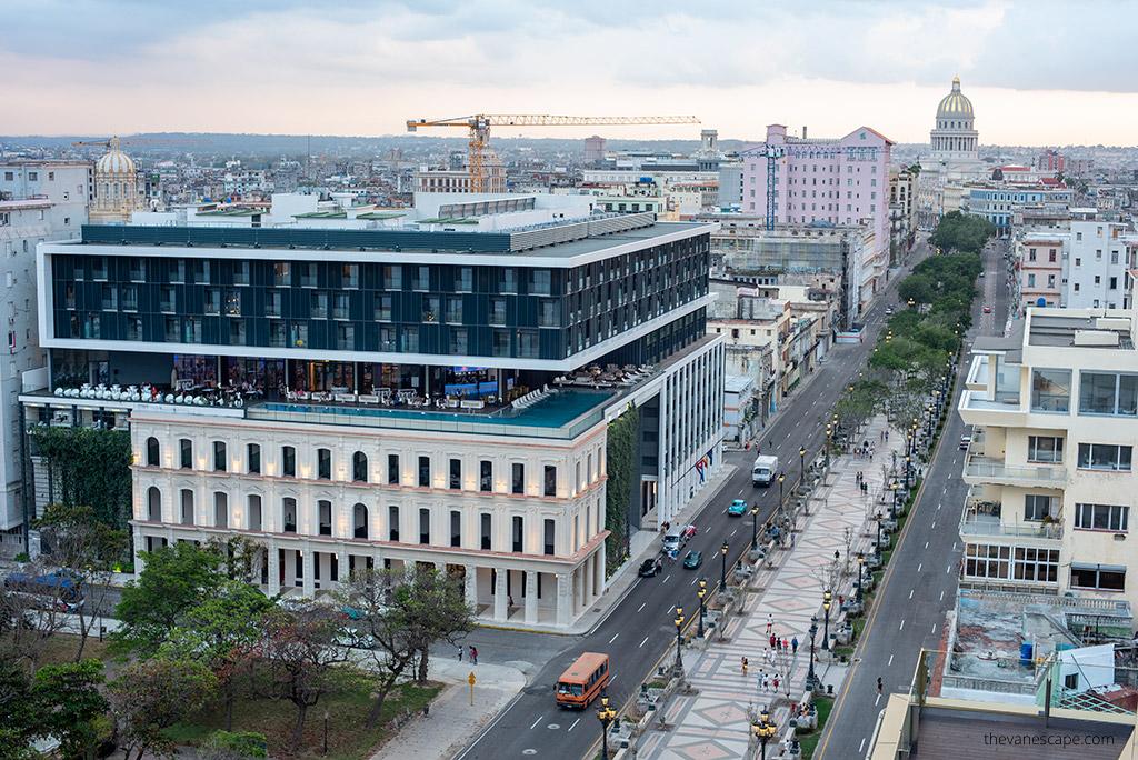 SO Paseo del Prado La Habana Best Rooftop Bars in Havana, Cuba