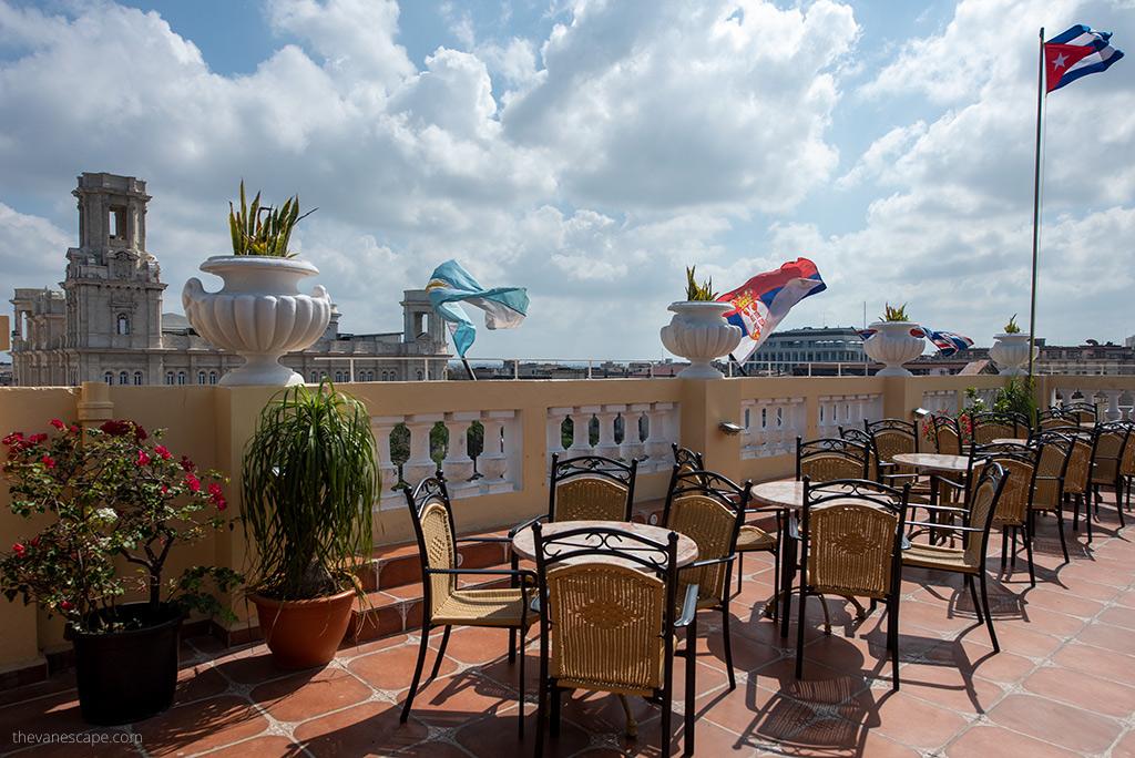 Hotel Inglaterra rooftop bar Best Rooftop Bars in Havana, Cuba
