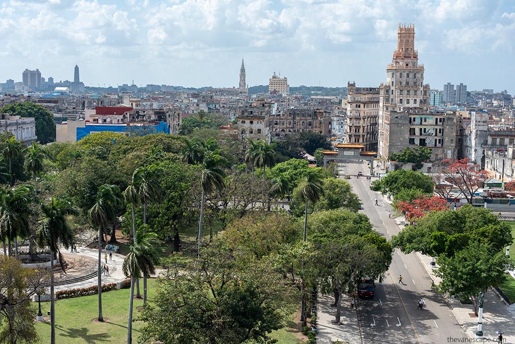 Hotel Saratoga Havana rooftop bar view Best Rooftop Bars in Havana, Cuba