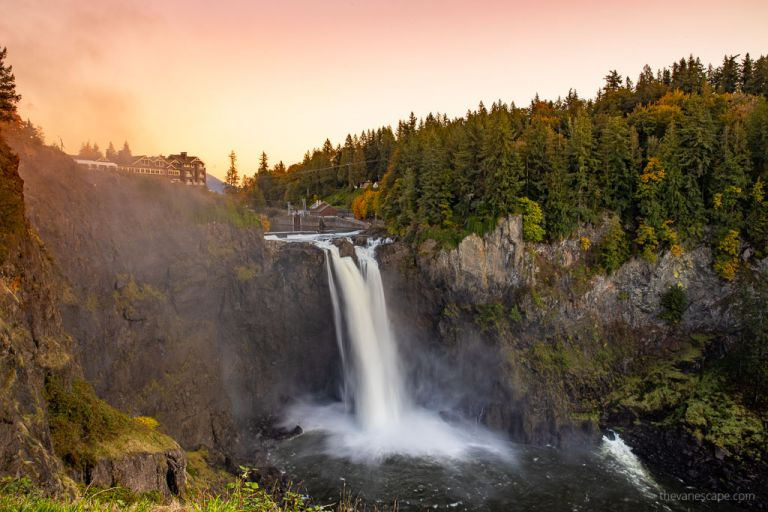 Snoqualmie Falls and Hotel