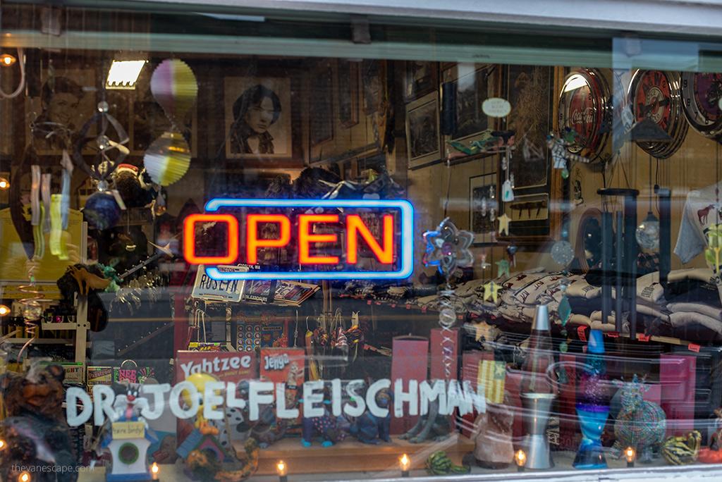 Dr Joel Fleischman office - Cicely's Gift Shop