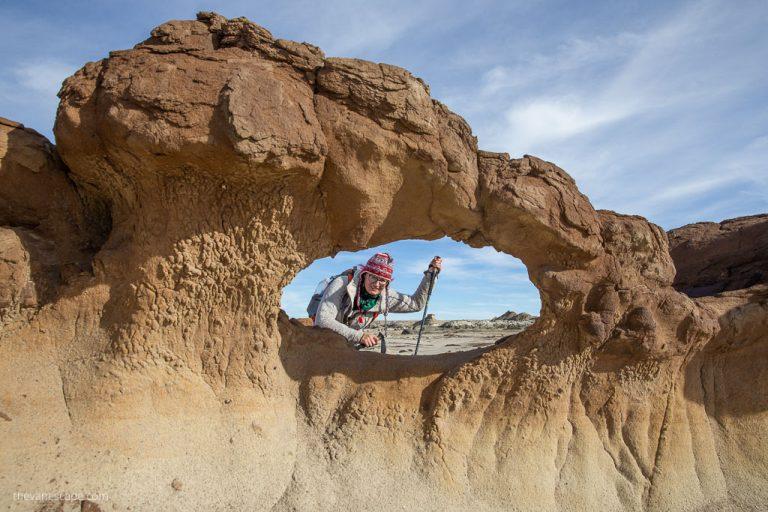 Hiking The Bisti/De-Na-Zin Wilderness New Mexico