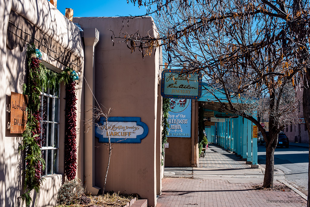 streets of Santa Fe