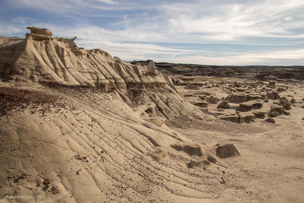 Hiking the Bisti/De-Na-Zin Wilderness