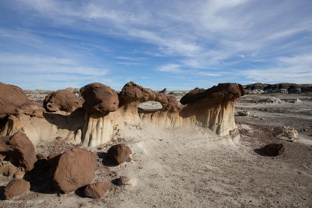 Bisti Badlands New Mexico
