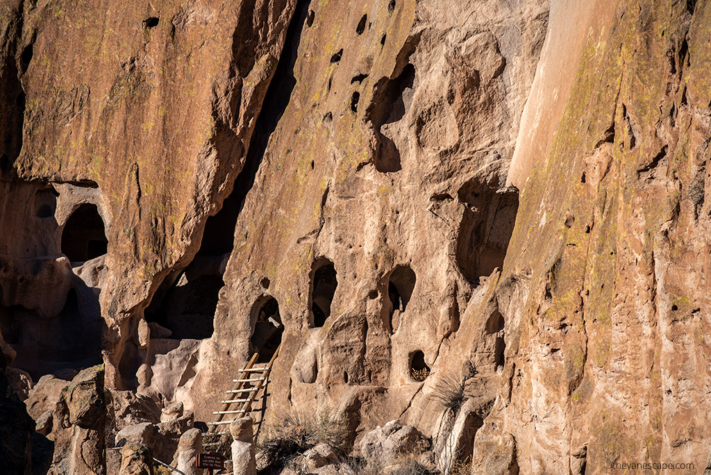 Hiking in Bandelier National Monument