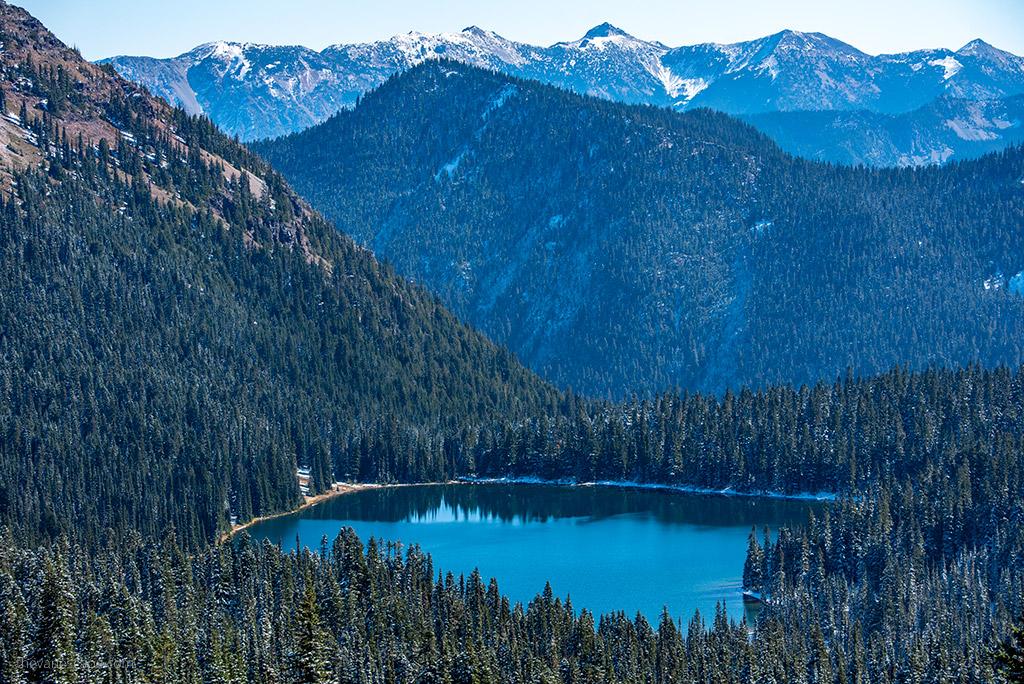 lake in Mount Rainier