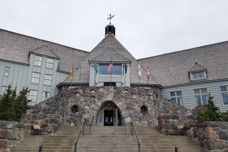 Timberline Lodge: The Shining