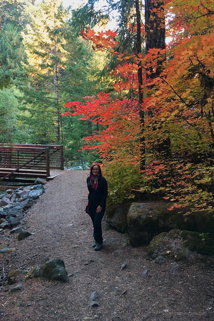 hike to Umpqua Hot Springs