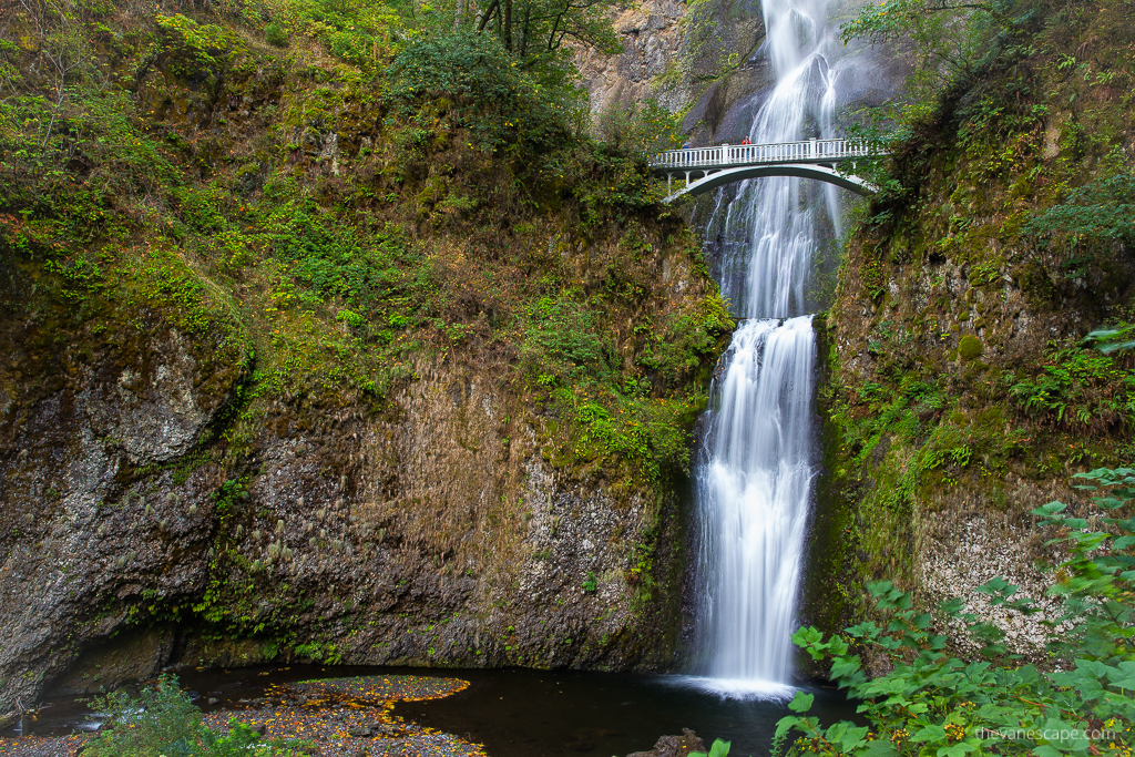 the tallest waterfall in Oregon
