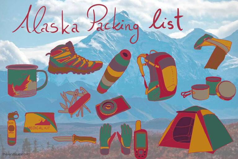 Alaska Packing List